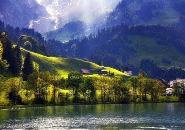 Энгельберг, Швейцария (604x427, 58Kb)