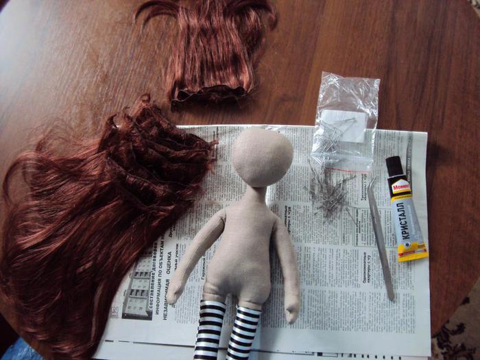 Как у кукол волосы сделать шелковистыми 880