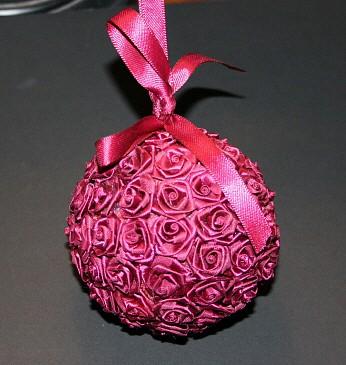 折法制作装饰丝带花希望大家能喜欢