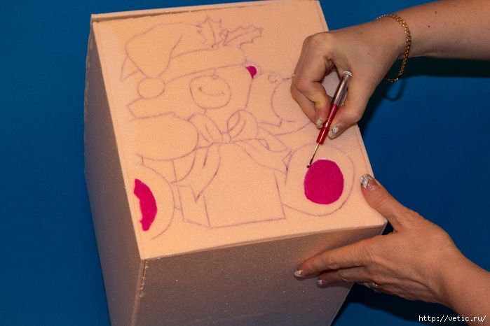 коробка для ёлочных игрушек (МК) 06 (700x466, 233Kb)