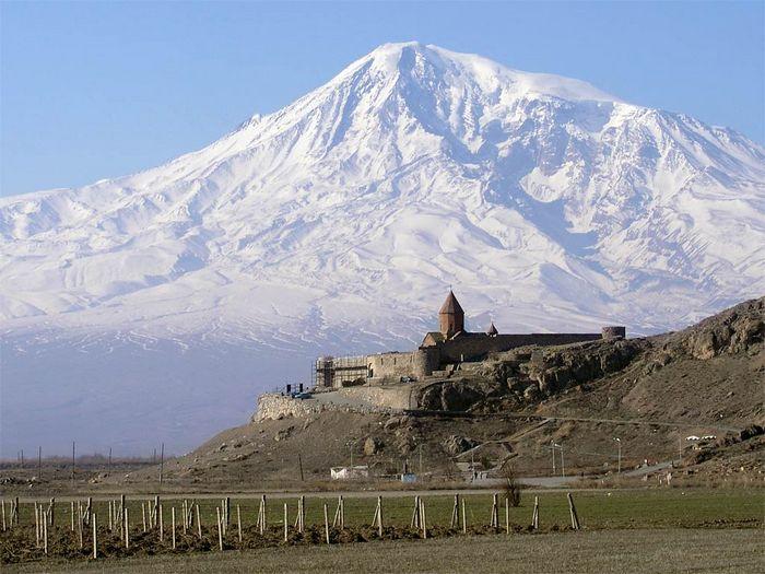 Гора Арарат находится на