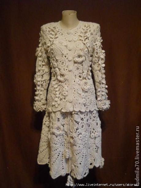 Блузки Пальто Из Ирландское Кружево Платья