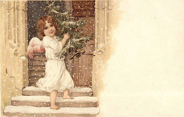 Крошку ангела в сочельник... (Федор Михайлович Достоевский)