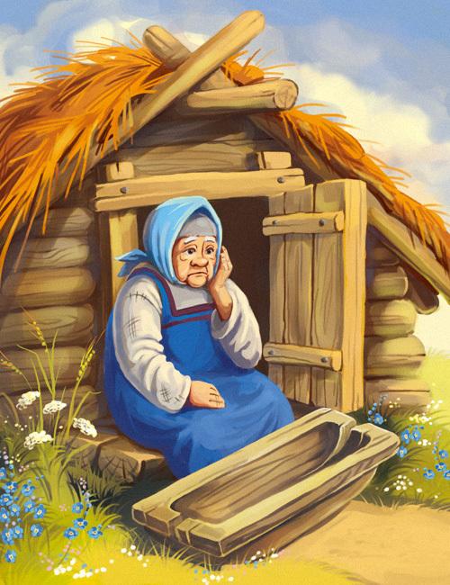 Иллюстрации к сказкам веры север