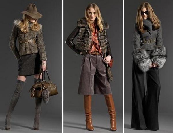 Женская Одежда Осень Зима