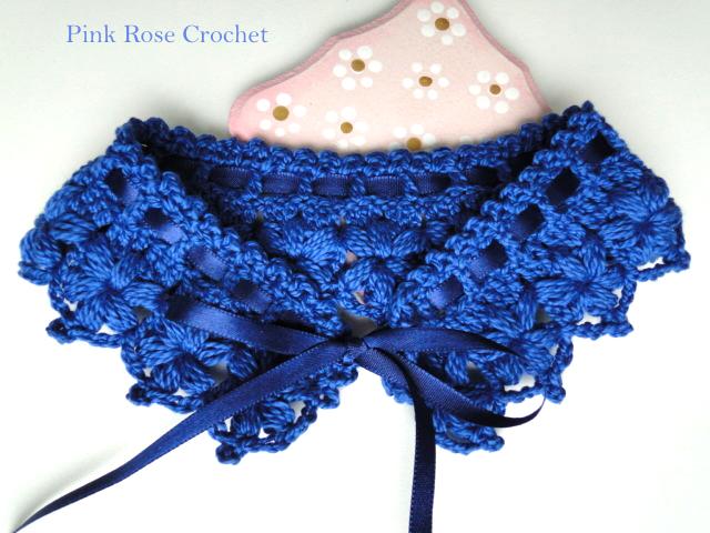 Colar Golinha Azul Marinho Crochet Collar (640x480, 501Kb)