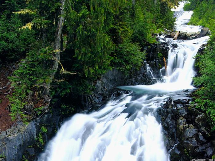 Трибергские водопады самое