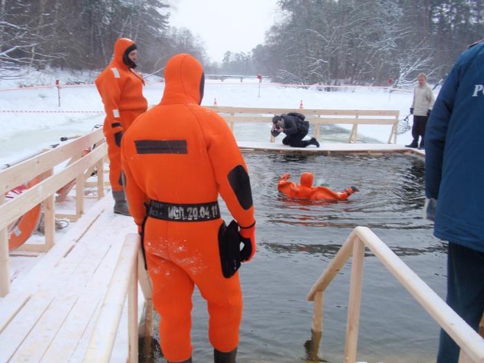 Москва готовится к Крещению  - фото 23