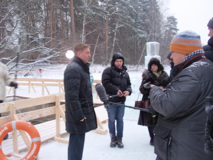 Москва готовится к Крещению  - фото 27