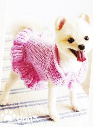 Платье для собаки своими