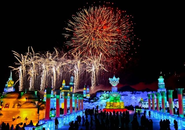 фестиваль ледяных скульптур харбина 2 (640x449, 255Kb)