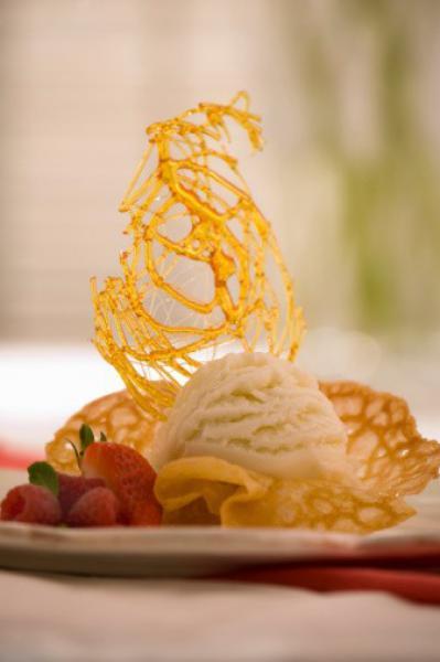 Как сделать из сахара сладкие нити