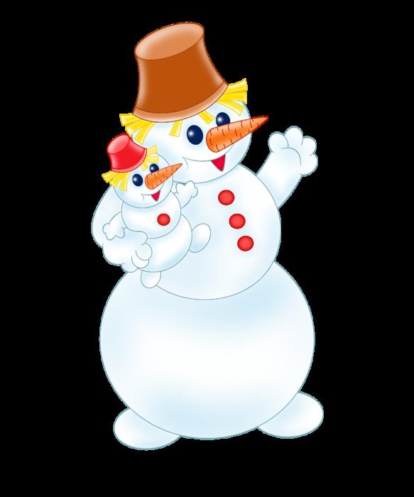 снеговики (583x700, 168Kb)