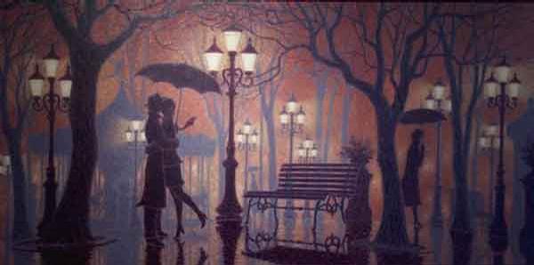 Denis Nolet 1964 - Canadian Figurative painter - Night Tango in Paris (6) (600x298, 23Kb)