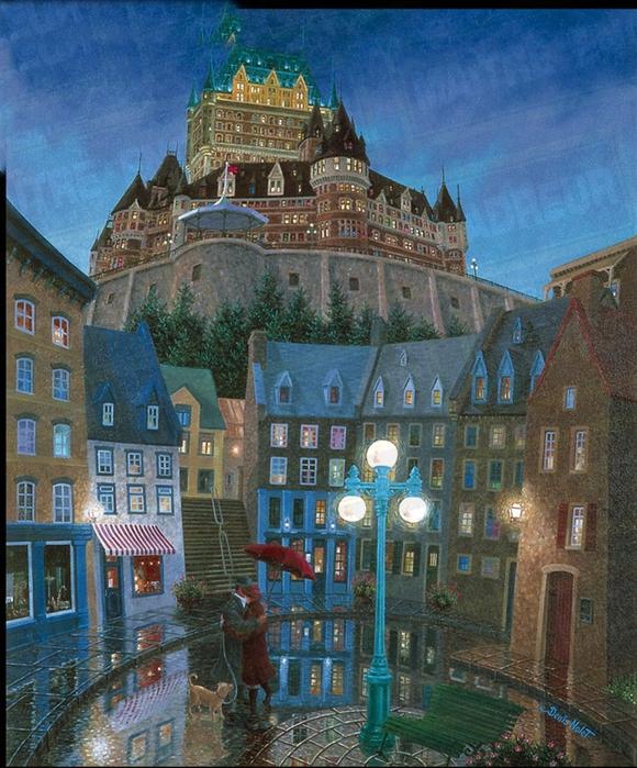 Denis Nolet 1964 - Canadian Figurative painter - Night Tango in Paris (16) (580x700, 373Kb)
