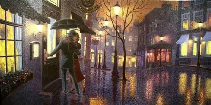 Denis Nolet 1964 - Canadian Figurative painter - Night Tango in Paris (25) (700x348, 46Kb)