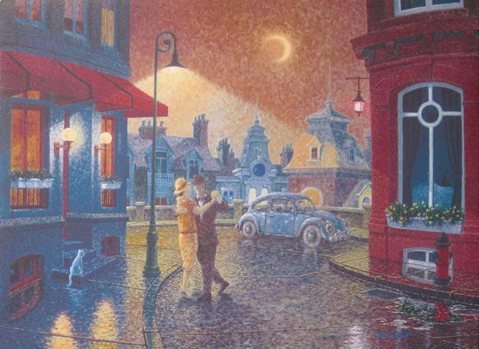 Denis Nolet 1964 - Canadian Figurative painter - Night Tango in Paris (40) (700x510, 314Kb)