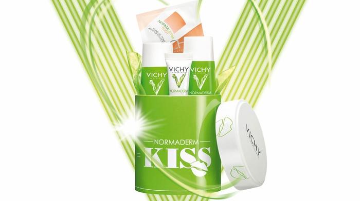 Акция! Vichy дарит подарки! Normaderm KISS (700x392, 218Kb)
