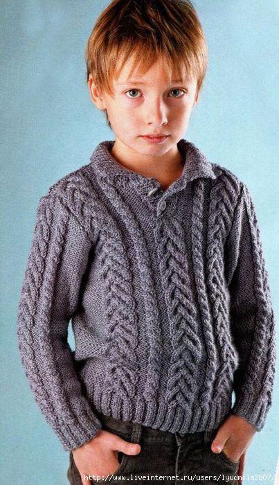 в таком свитере ваш малыш