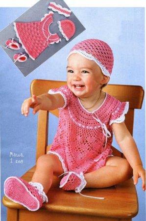 вязаный ажурный комплект для маленькой девочки/1358676307_1 (298x450, 36Kb)