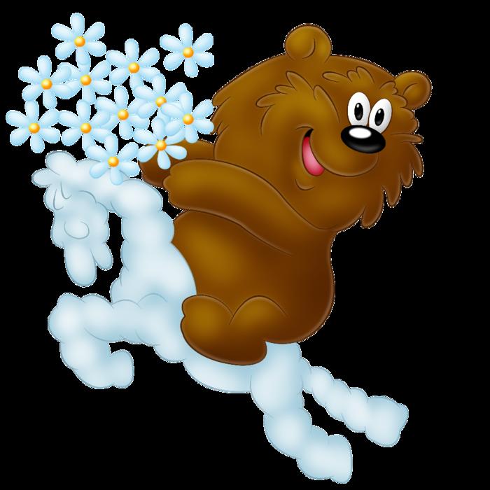 медведь !!на облаке2 (700x700, 323Kb)
