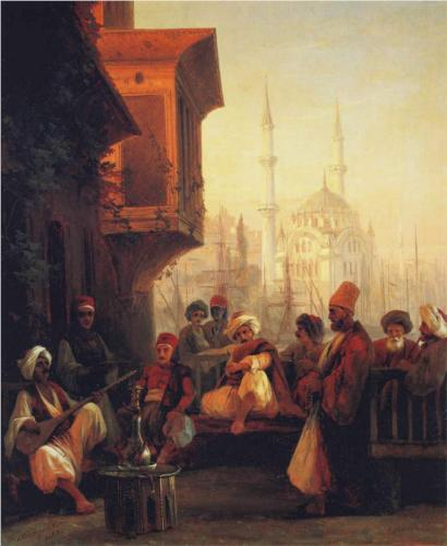 coffee-house-by-the-ortaköy-mosque-in-constantinople-1846.jpg!Blog (410x500, 28Kb)