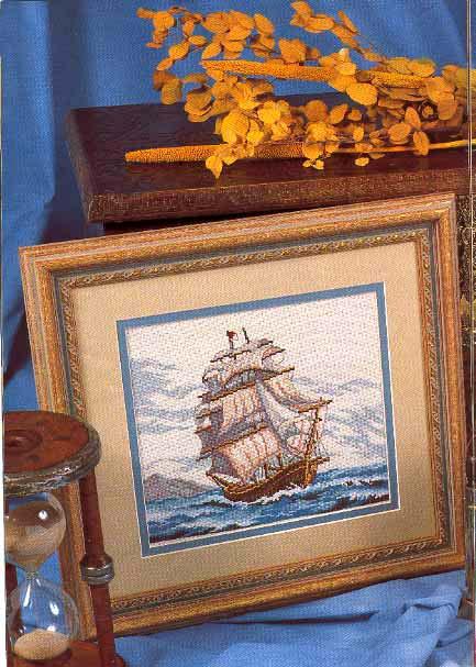 """Кстати в нашем разделе  """"Схемы вышивки крестом море """" есть несколько его картин переведенных в схемы для вышивания."""