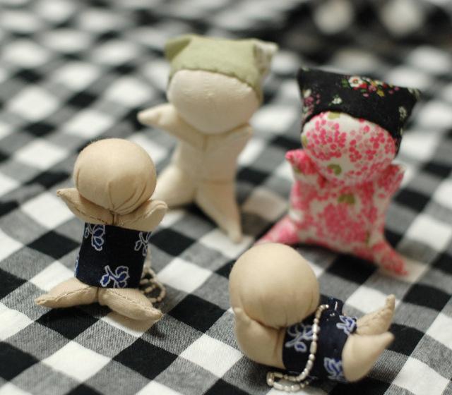 Японская шарнирная кукла мастер класс инструкция #12