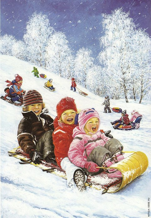 дети санки катание Новосёлова Л.1286374874_4 (485x700, 114Kb)