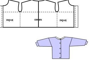 Блузка летняя быстро сшить
