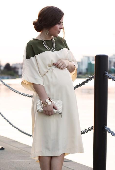 Стиль для беременных модная