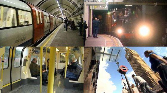 Лондонское метро отмечает юбилей 150 лет