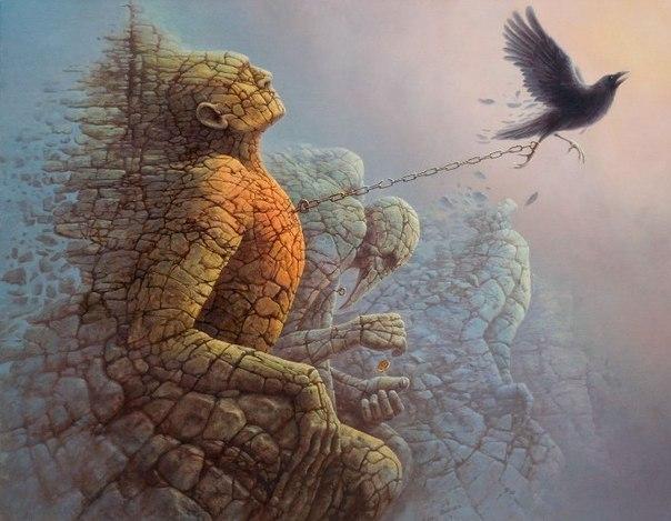 польский художник Томаш Ален Копер 2 (604x469, 63Kb)