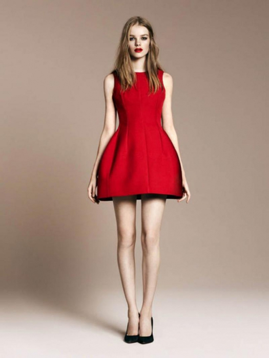 Женщина в красном платье воспринимается мужчиной