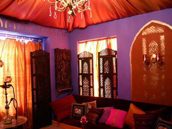 Moroccan bedroom theme