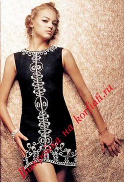вязание спицами кофты туники платья