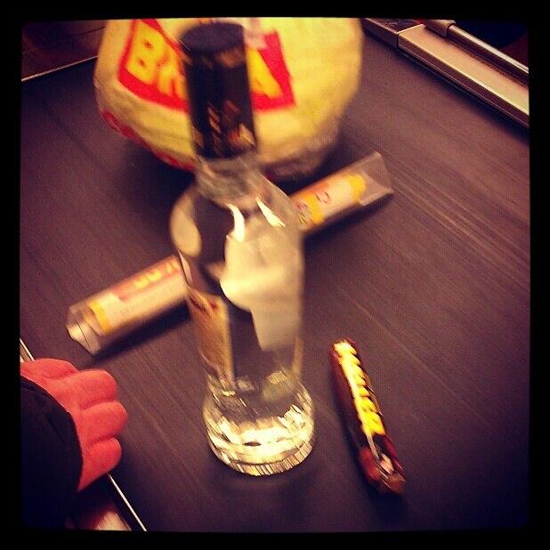Фотография russian vodka (чекушка)