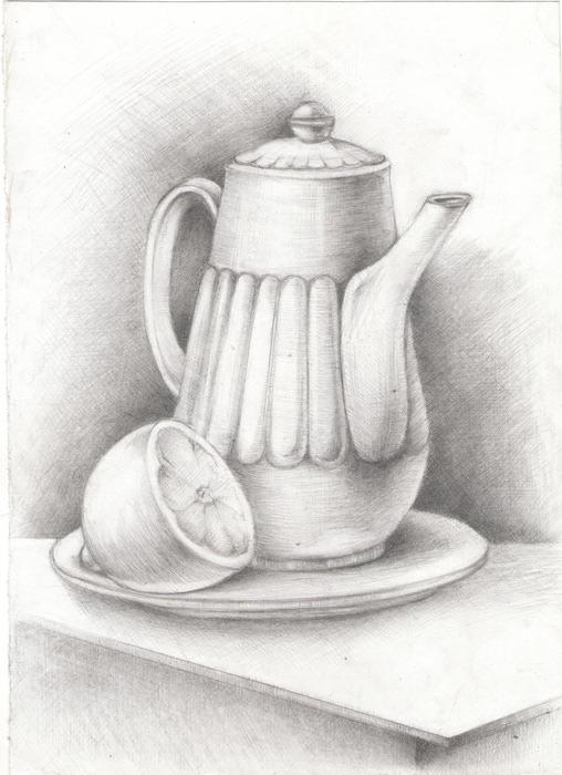 Натюрморт с кофейником (508x700, 96Kb)