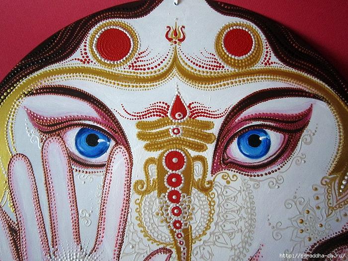 Ганеша, автор Shraddha, 2 (700x525, 409Kb)