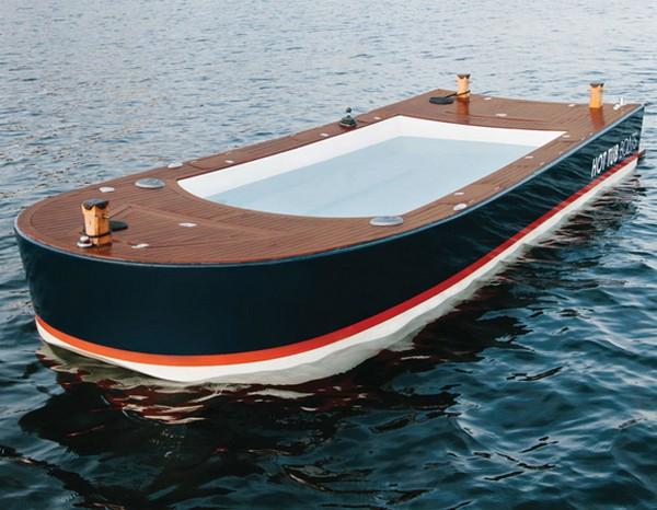 Hot Tub Boat лодка джакузи (600x466, 78Kb)