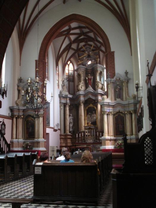 вильнюс костел святой анны фото 4 (525x700, 282Kb)
