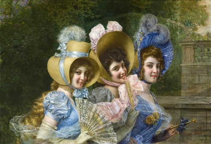 Gaetano Bellei (1857-1922, Italian) (700x476, 306Kb)