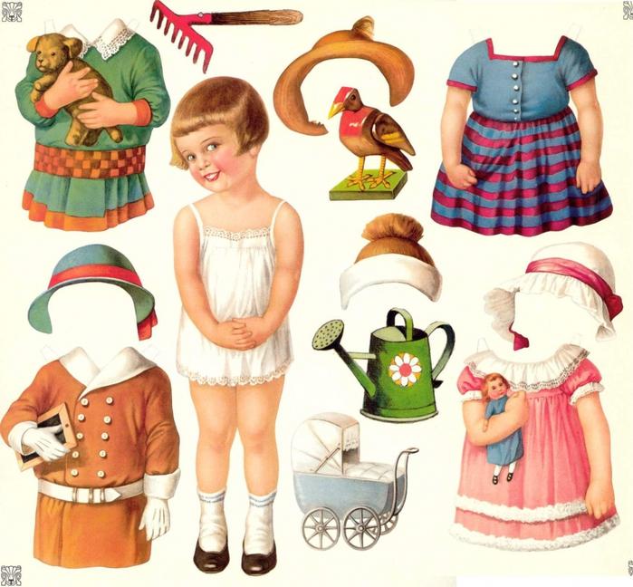 Бумажные куколки!