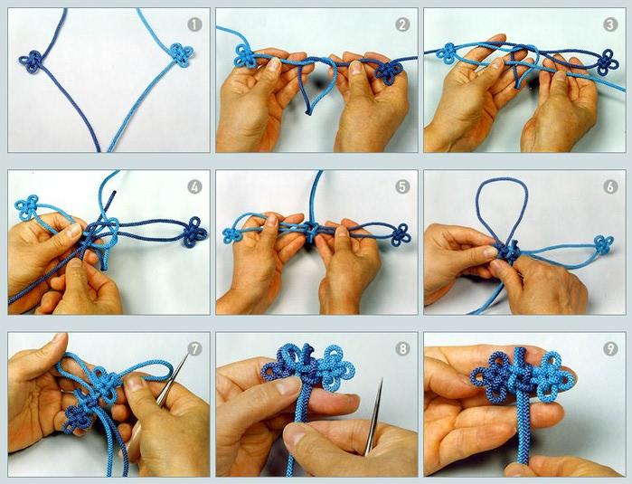 Плетем узелками своими руками