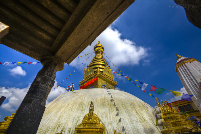 Framing the Swayambhu-Nath (700x466, 264Kb)