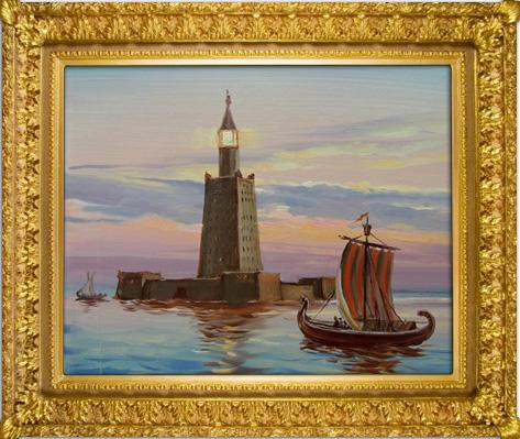 Мастер-класс рисование маслом,   Денис Никонов,  бесплатный мастер-класс рисования