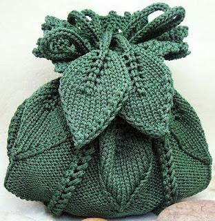 вязаная-сумочка-листики (312x320, 65Kb)