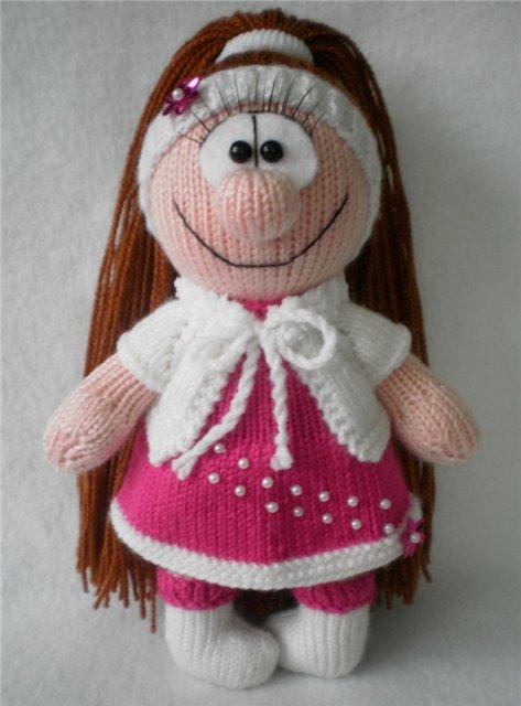 Куклы вязание дневники