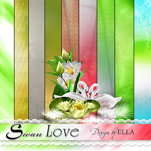 1-paper-Swan-Love-by-ELLA (500x500, 127Kb)