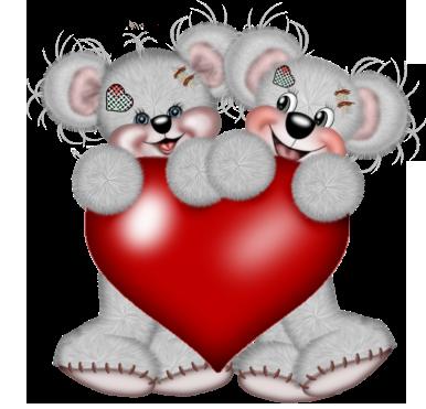 смайлики мишки: